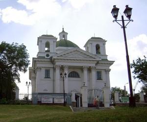 Костел Іоанна Хрестителя - пам'ятка Білої Церкви
