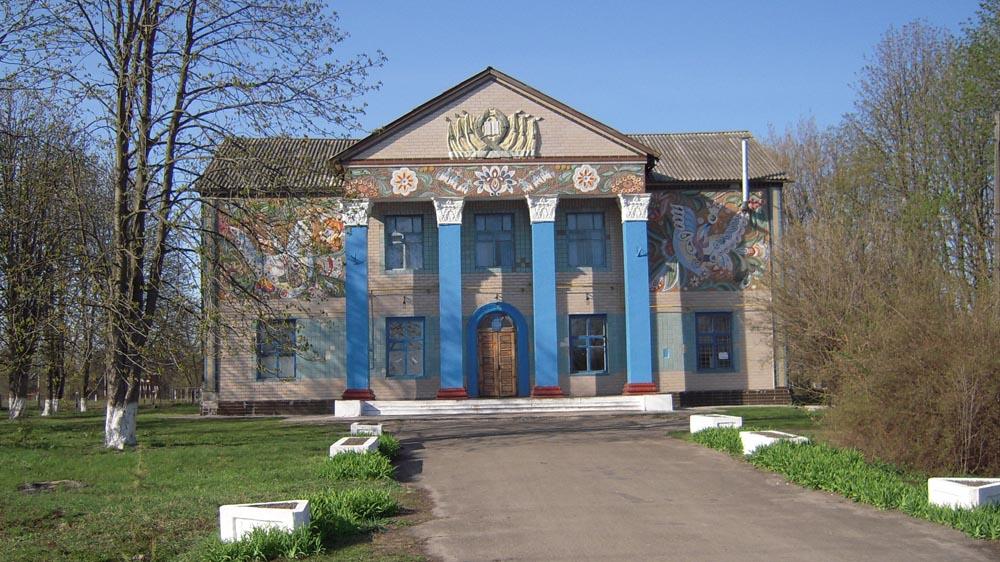 Будинок культури - пам'ятка Богданівки