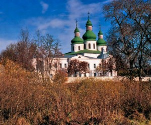 Цікаві місця у с. Данівка Козелецького району. Свято-георгієвський монастир