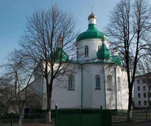 Миколаївський храм - пам'ятка у м Олевськ