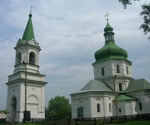 Цікаві місця у с. Седнів. Свято-Воскресенська церква