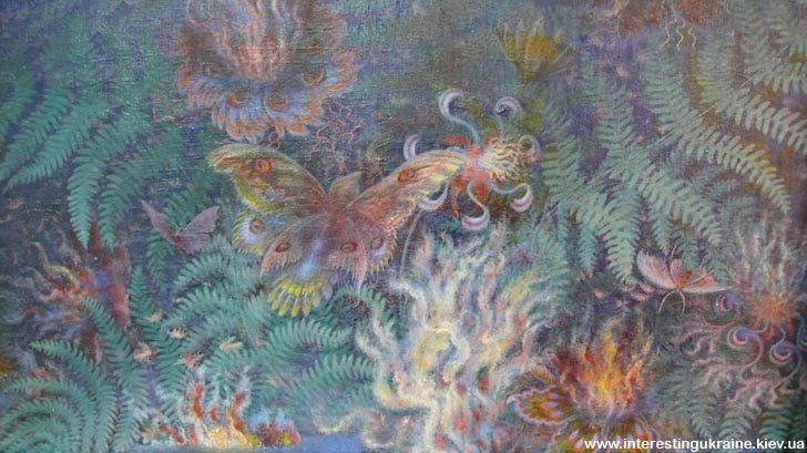 Фрагмент картини Катерини Білокур