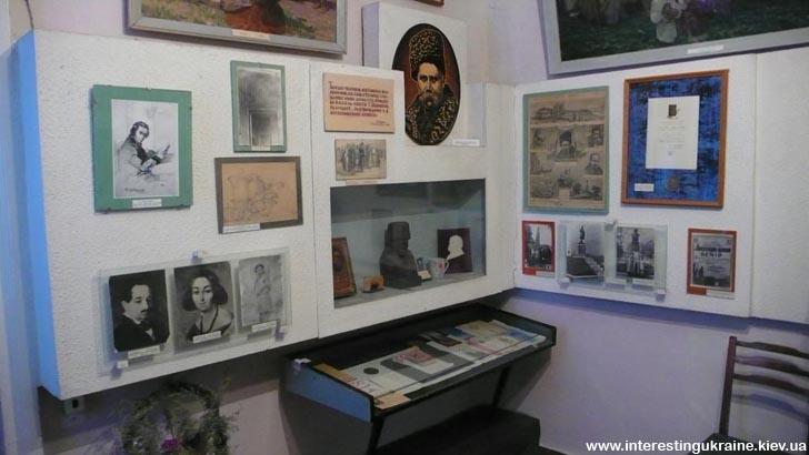 Експозиція щодо перебування Тараса Шевченка у Яготині