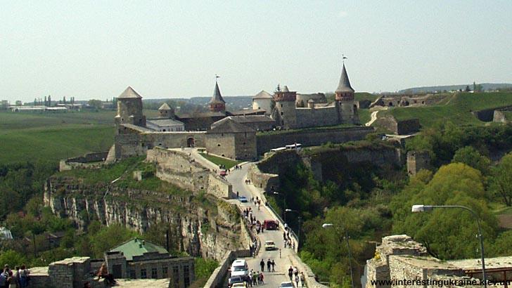 Стара фортеця - пам'ятка Кам'янця-Подільського