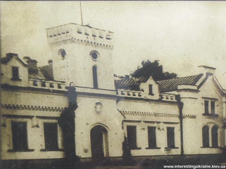 Палац Кочубеїв у Згурівці. До нашого часу не зберігся