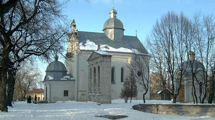 Церква святого Миколая у м. Золочів
