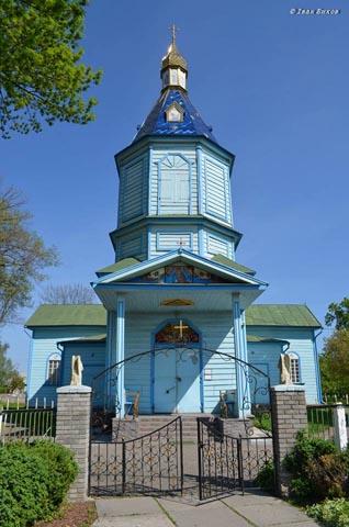 Церква - пам'ятка Гоголева Броварського району Київської області