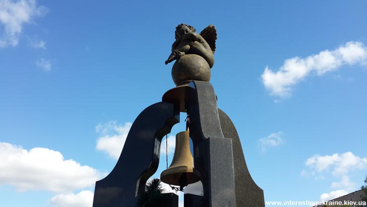 Фрагмент пам'ятника жертвам аварії на ЧАЕС