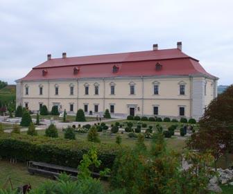 Великий палац - пам'ятка Золочівського замку