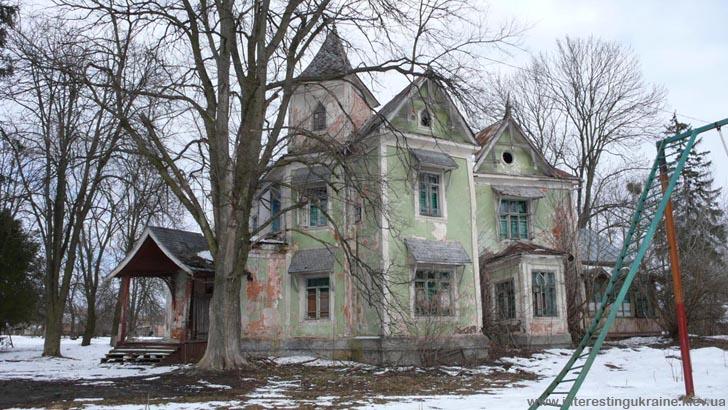 Будинок барона Н. фон Мекка - пам'ятка с. Копилів Київської області