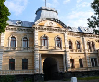 Палац графа Кінського - пам'ятка м. Сколе