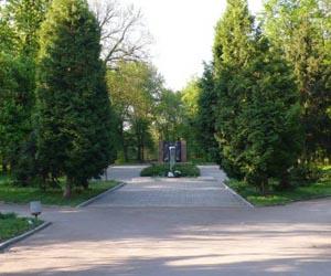 Пам'ятка Андрушівки - меморіал героям ВВВ