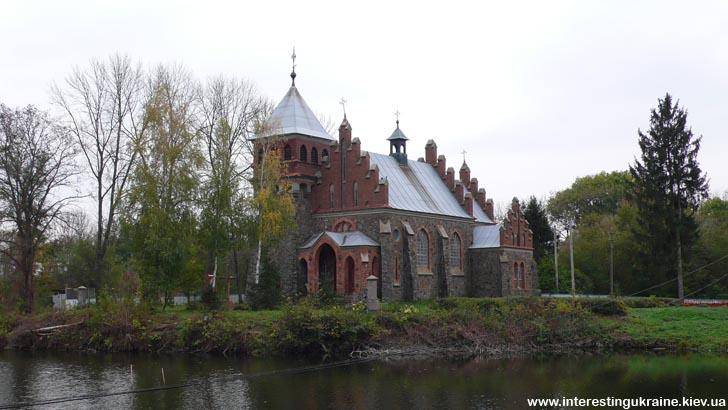 Костел Святої Клари - пам'ятка Городківка Житомирської області