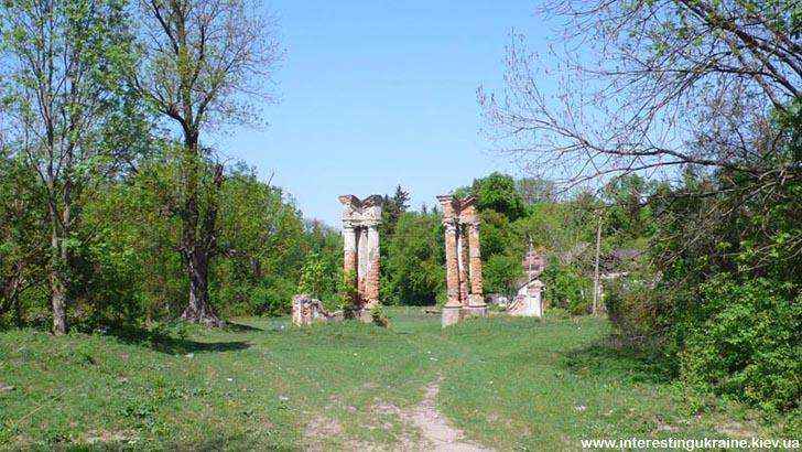 Залишки воріт садиби Шедуаров - пам'ятка в Івниці