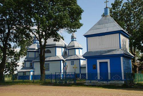 Дерев'яна церква - пам'ятка с. Краївщина