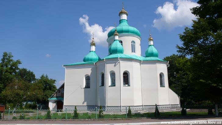 Миколаївський храм - пам'ятка Олевська