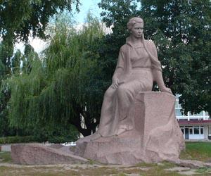 Пам'ятник Лесі Українці - пам'ятка Новограда-Волинського