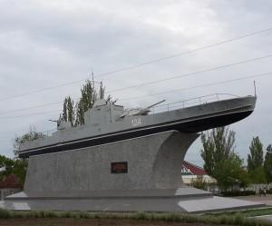 Бронекатер Дунайської флотилії - пам'ятка м. Ізмаїл