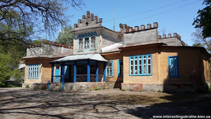 Пам'ятка Чемера - палац Пашковських