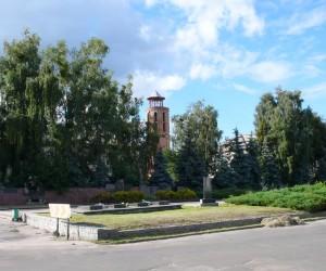 Водонапірна вежа  - пам'ятка  м. Радомишль