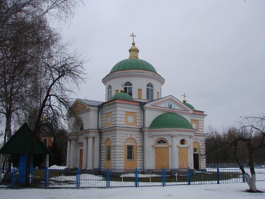 Храм 1808 р. - пам'ятка с. Вознесенське