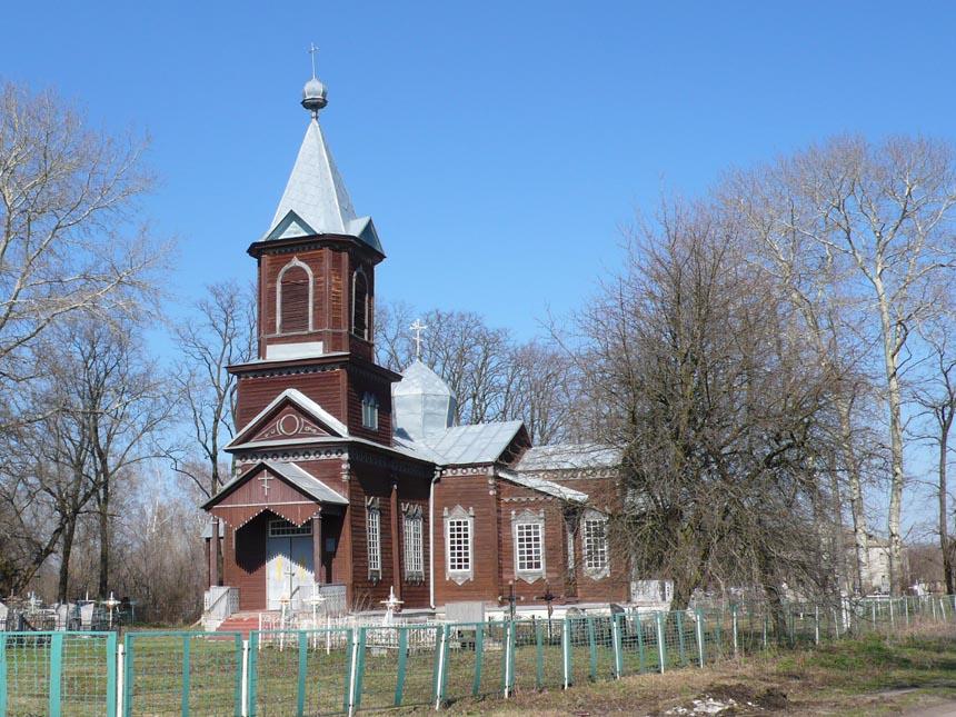 Пам'ятка Згурівського району - дерев'яна церква у с. Мала Березанка